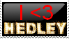I love Hedley Stamp by wildstar25