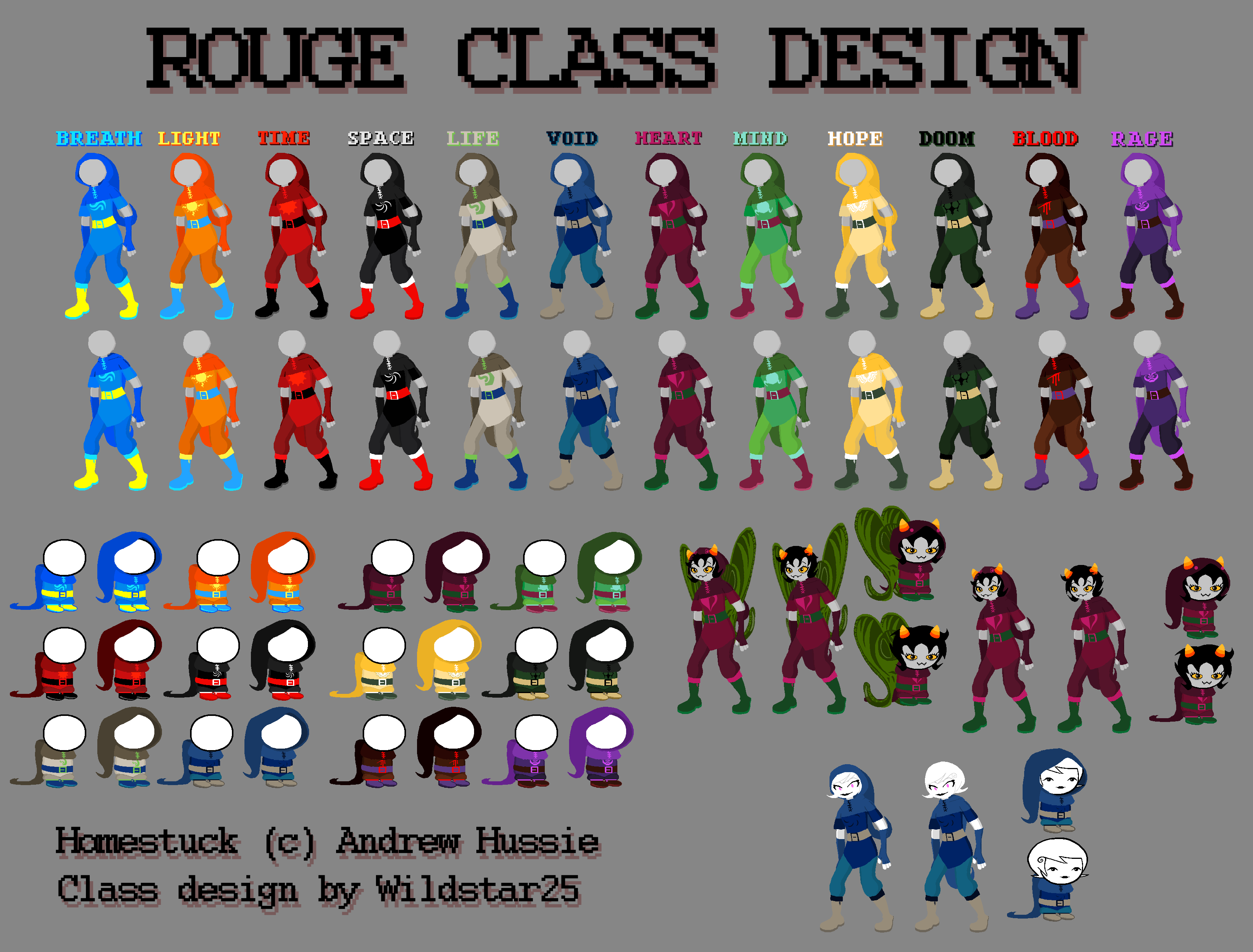 Mage Of Void Sprite Homestuck Rogue Class ...