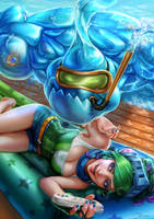 Arcade Riven and Pool Party Zac by Naivascha