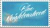 Blue Neighborhood Stamp by Kijiree
