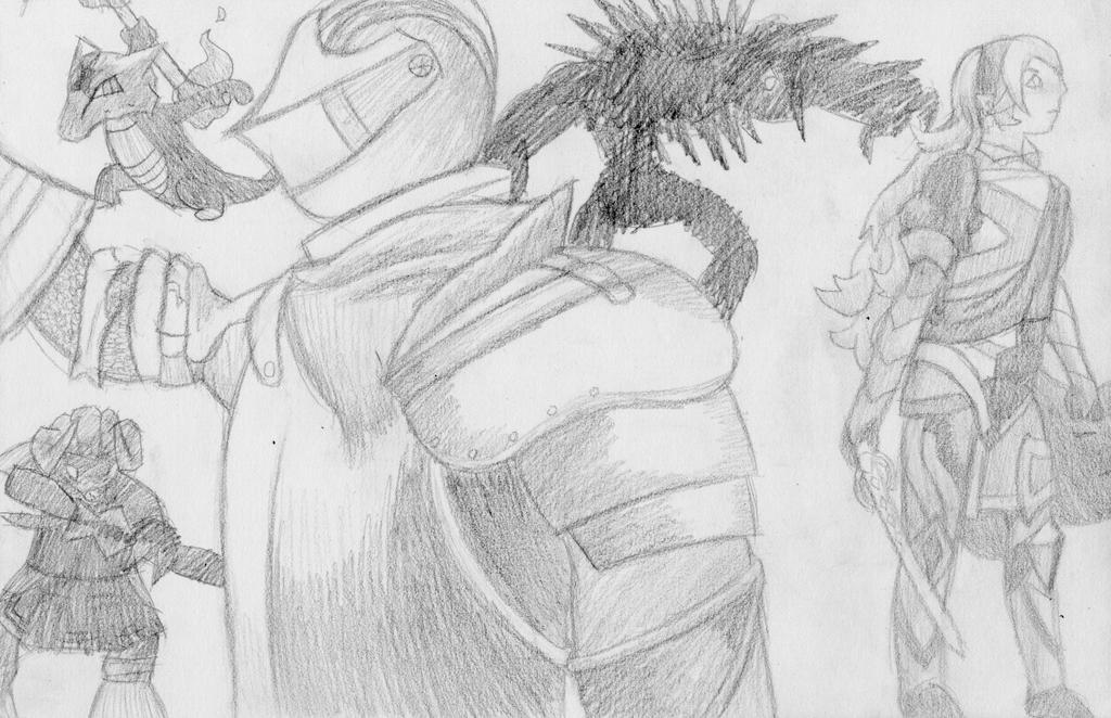 Heroes of Dark by Mulunia