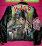 W.A.S.P. Leather Jacket 87 Era