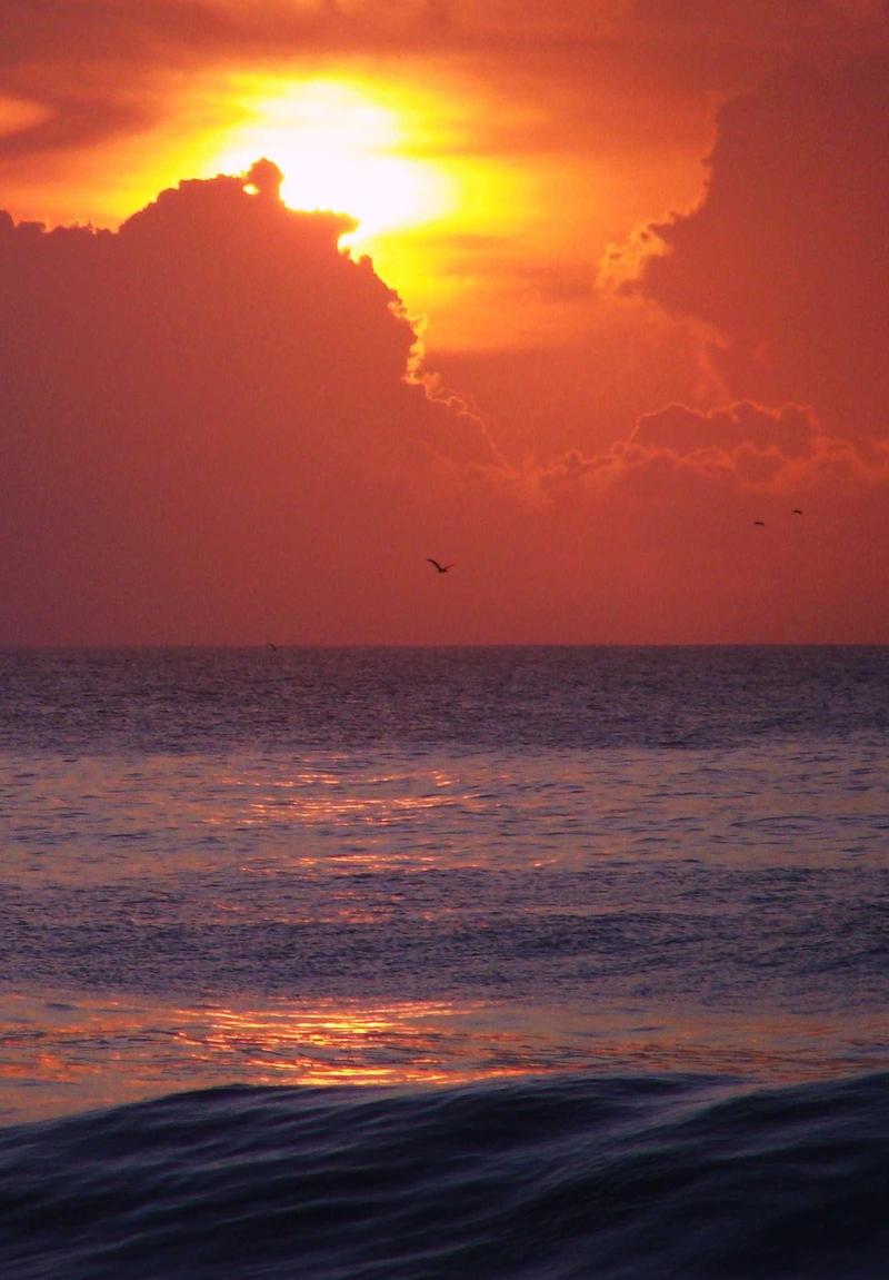 Sunrise Atlantic Ocean by nunheh