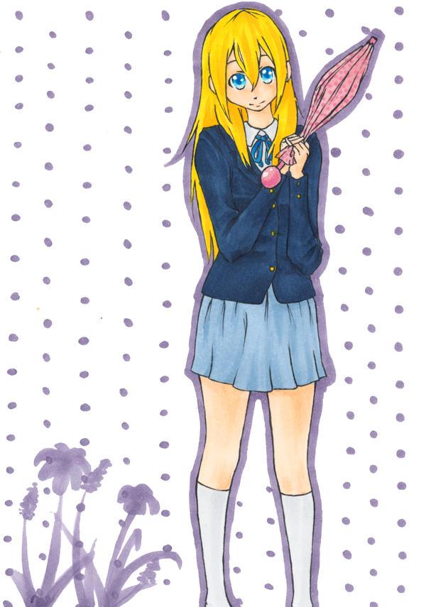 Sumire Saito - K-on! Re-start! by Tovato