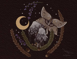 Lunar Inky Cap