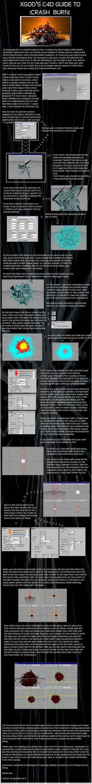 C4D Tutorial To :Crash Burn: by xgod-0