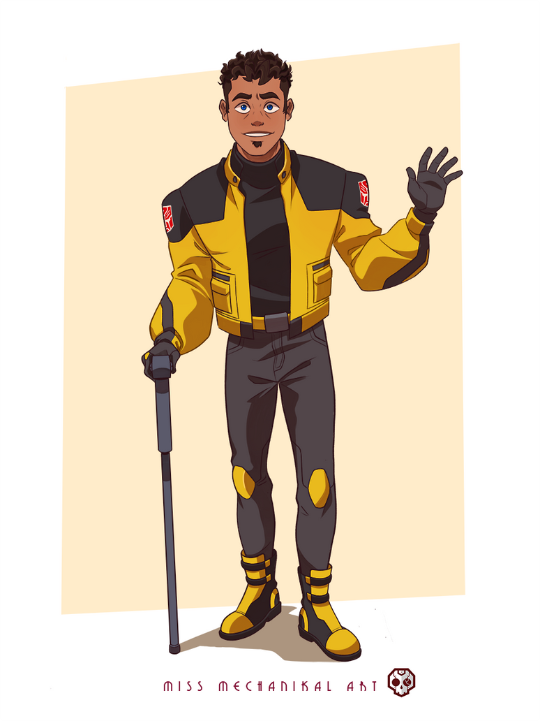 Human Bumblebee- Commission by JozzGc