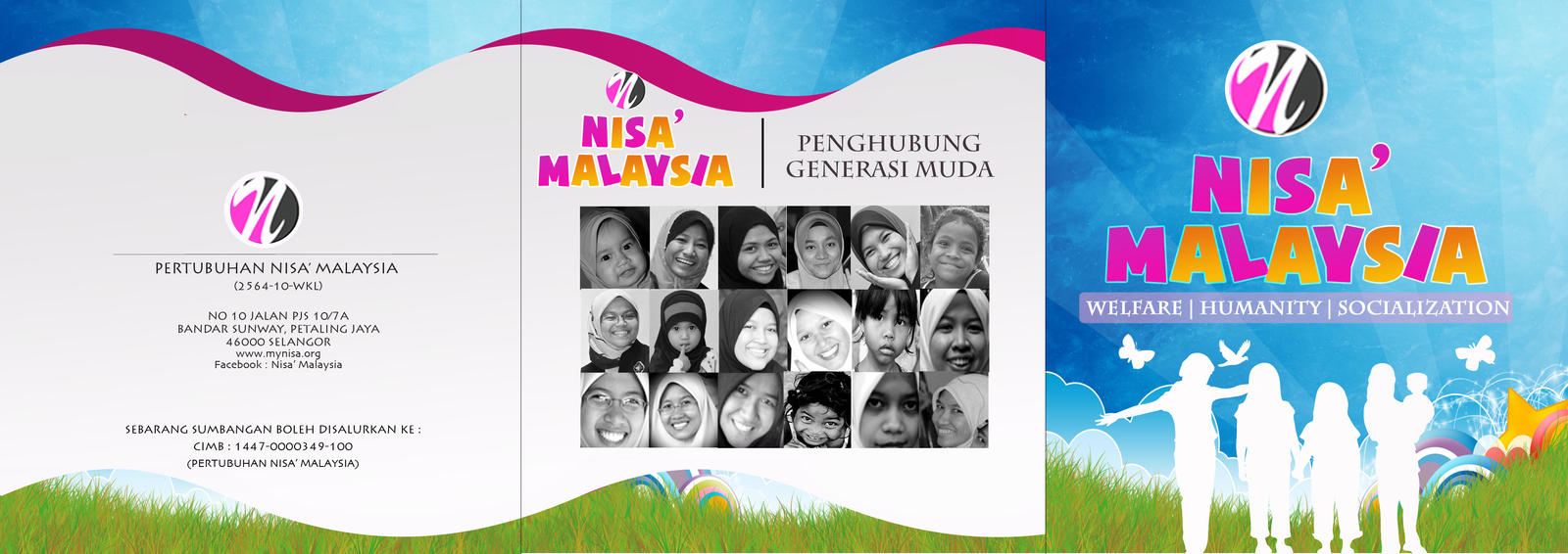 Pamphlet Nisa' Malaysia by syaheerah