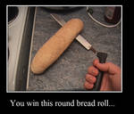Bread beats Knife