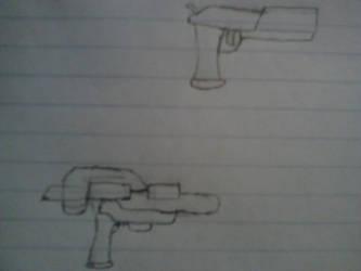 Gun practice 1 by DelilaRhettDevillier