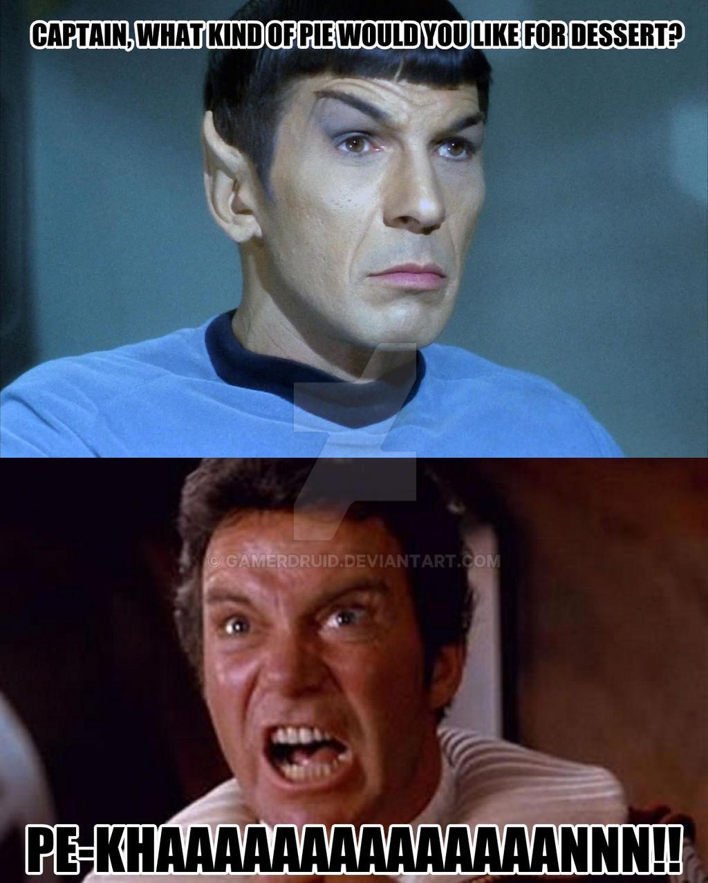 Star Trek Meme Pecan By Gamerdruid On Deviantart
