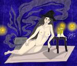 Magic girl by jeysart