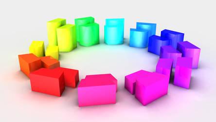 3D Colour Wheel by Chum162