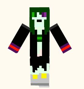 Black Demon Slayer minecraft skin by Ask-BlackDemonSlayer