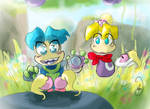 Rayman and Tod-Childhood memories