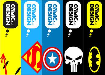 Comic et Design - Bookmark