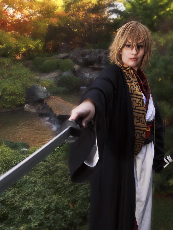 hakuouki - Kazama Chikage 2 by visuvampy