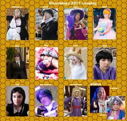 Visuvampy 2017 cosplay meme by visuvampy