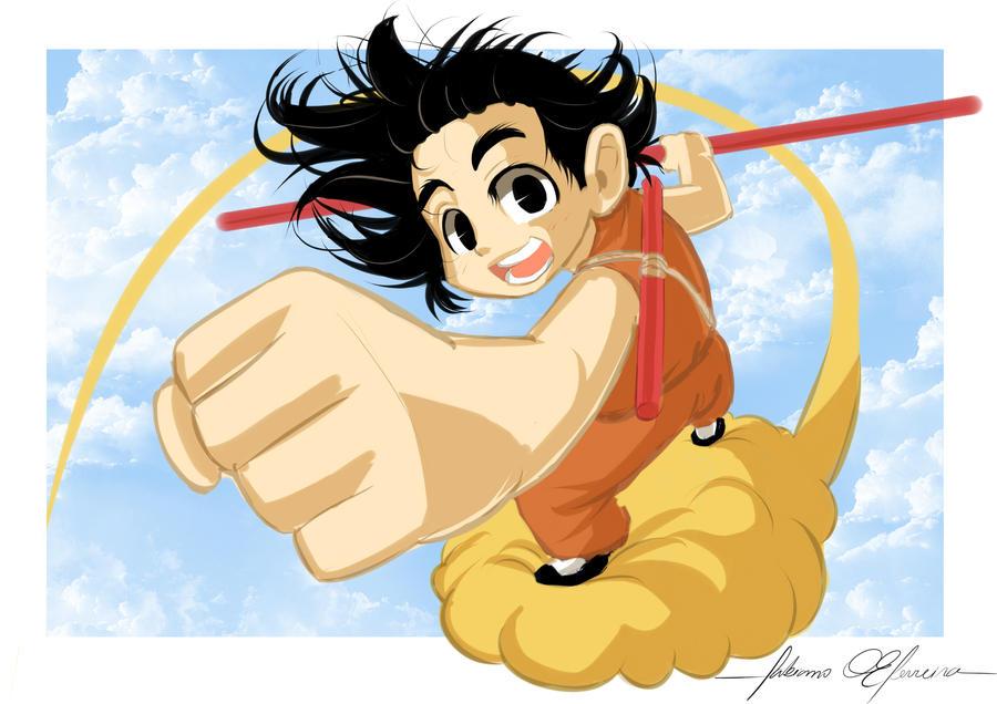 Yaaay, Goku by Itamaraty