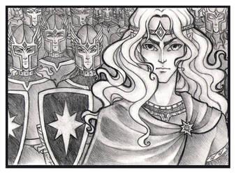 Prince Celegorm by Tintariel