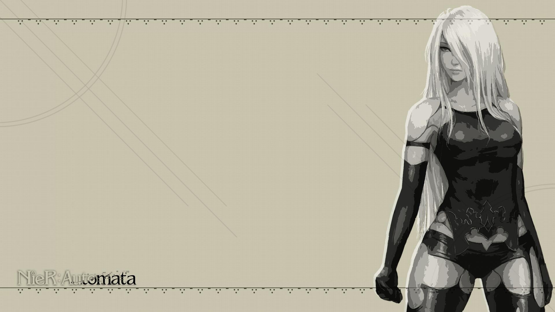 A2 Nier Automata Wallpaper 1920 X 1080 By Cporsdesigns On Deviantart