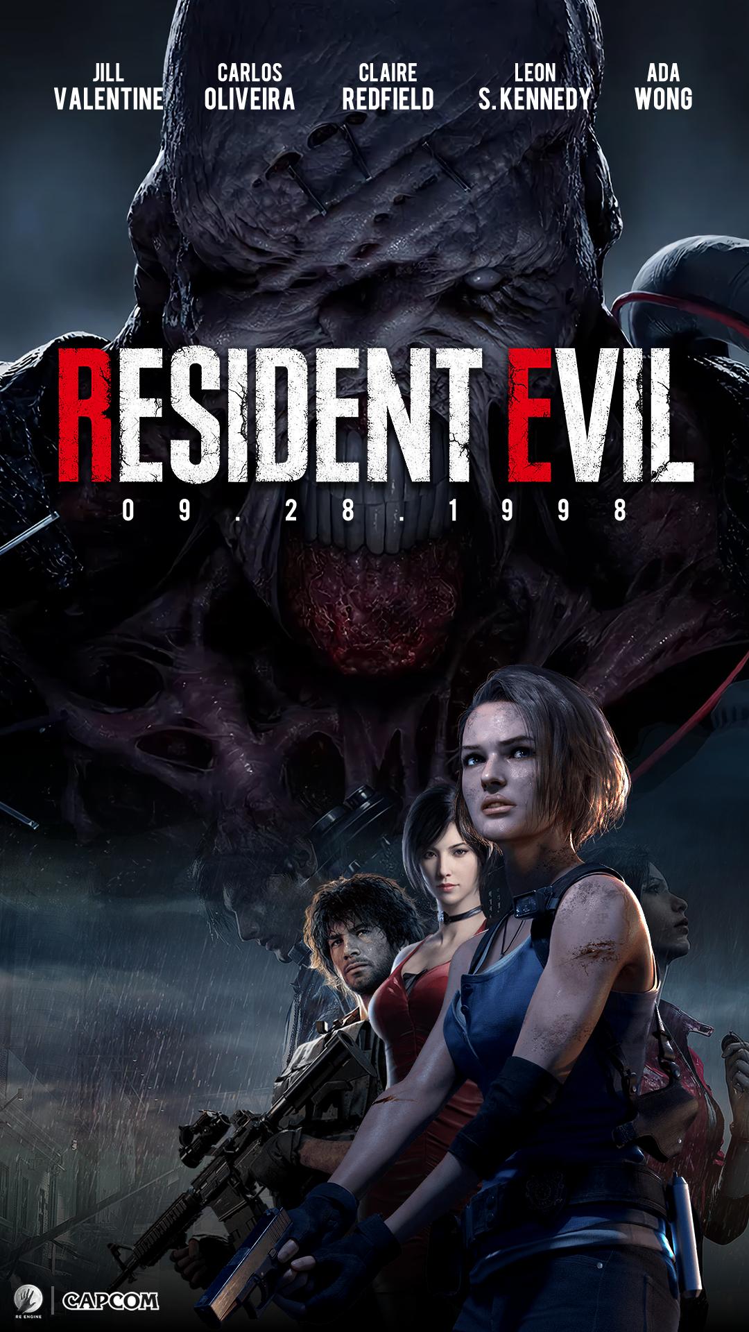 Resident Evil Remake Poster Wallpaper By Cporsdesigns On Deviantart