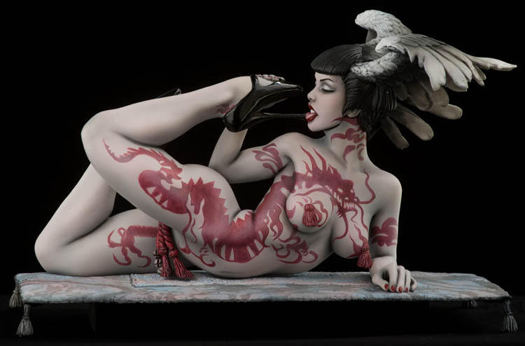 Olivia's Red Dragon by MarcusDeleo
