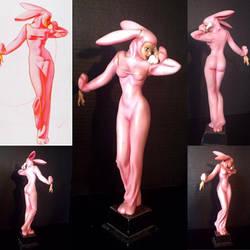 George Petty Pink Bunny