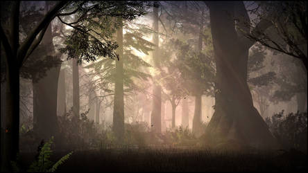 Deep Forest by Mask1985