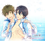 Free! (Iwatobi Swim Club)-MAKOxHARU