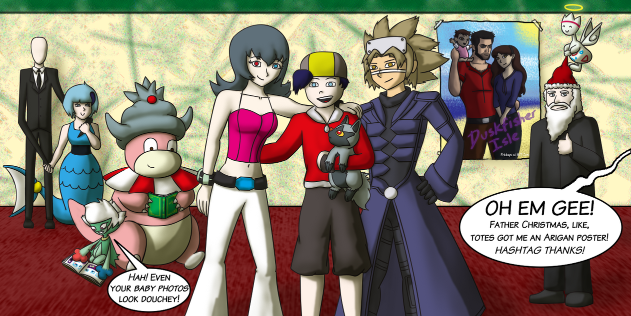 Happy Holidays, Blackwing2! by ari1nly