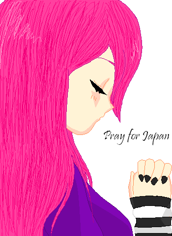 Pray for Japan by desi-chan97