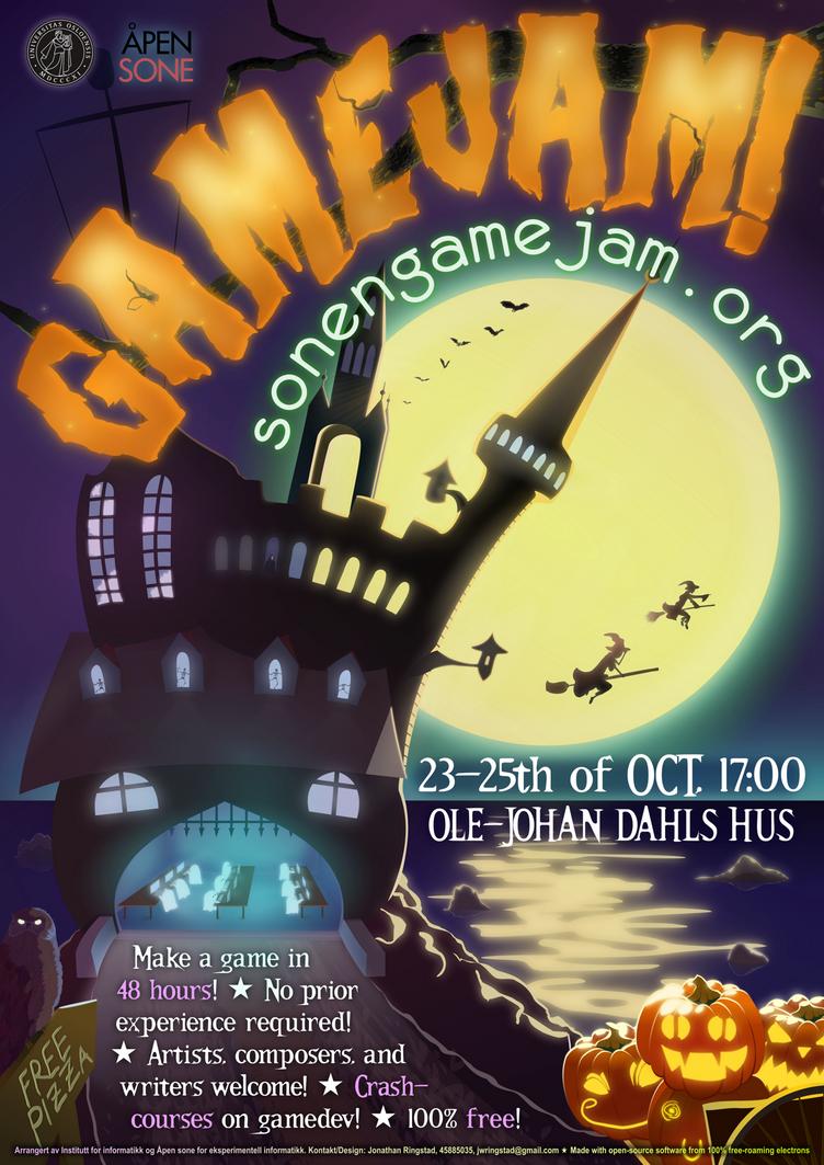 Sonen Gamejam poster 2015-2 by Amadiro