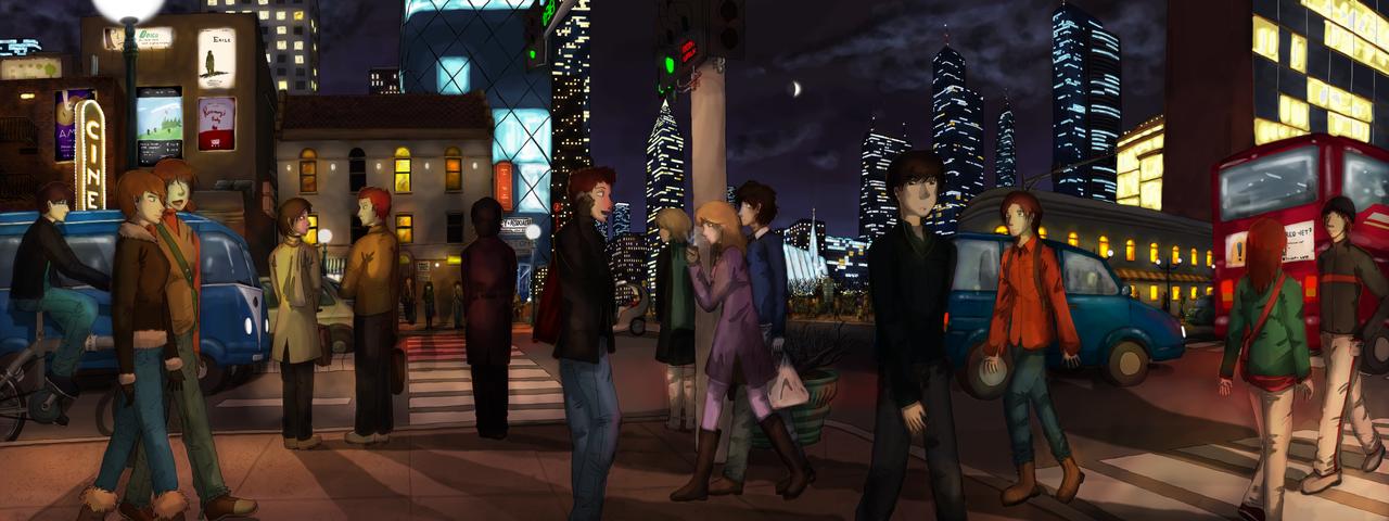 Light The City by katcrunch