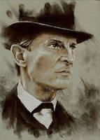 Sherlock Holmes by GlaringDragon