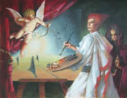 Painter's life by GlaringDragon