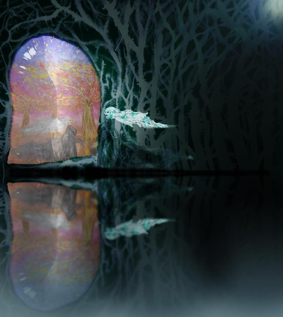 Black Mirror Maze by anaPhenix