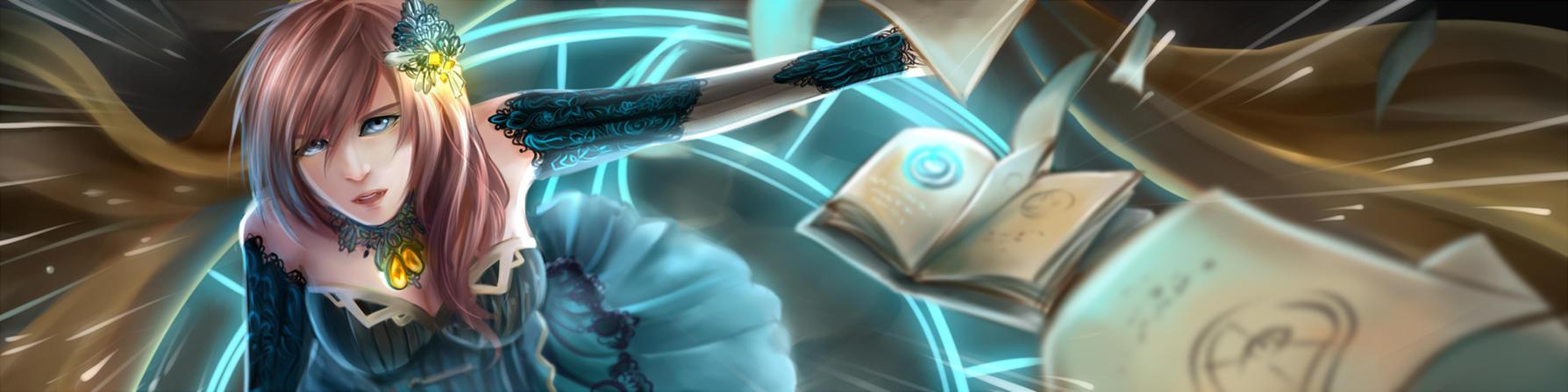 Blue Sorcerer by nheinnahn
