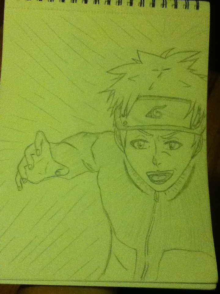Naruto: drawing practice by phoenix-cosplayer
