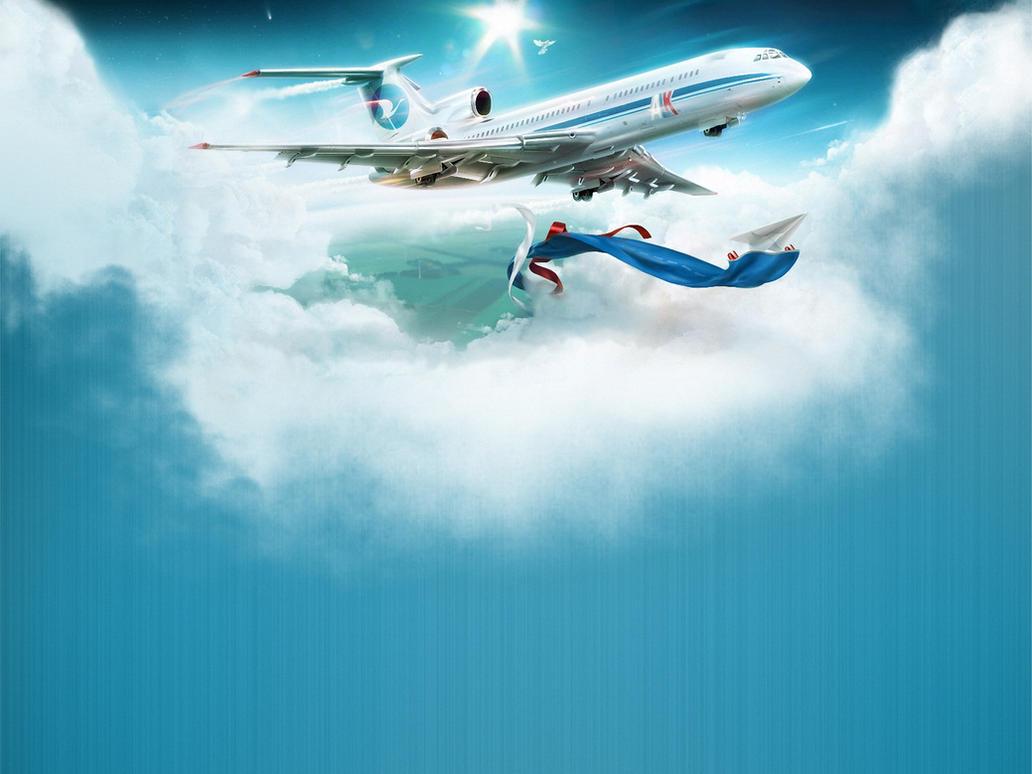friendly sky by rusaeval