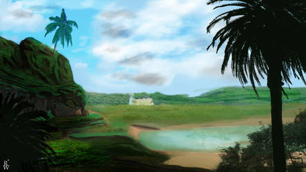 Green Plains by russiusCentral