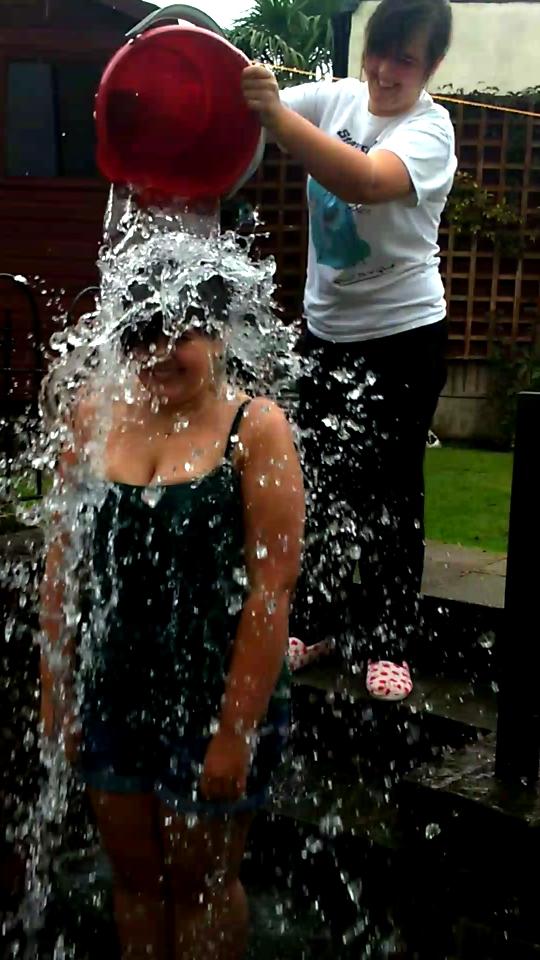 ALS ice bucket challenge by RachelLou96