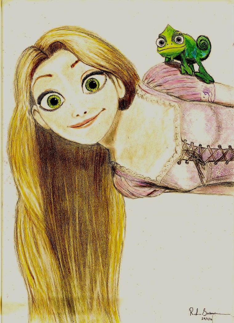 Rapunzel - Tangled by RachelLou96