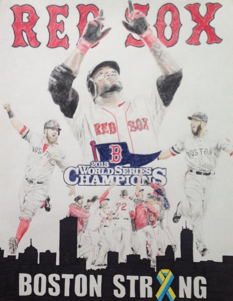 Red Sox 2013 World Series Champions by freddy613 on DeviantArt