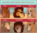 TLK Semi Character Challenge