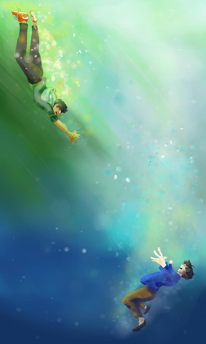 Falling by KitsuneSliefoxx