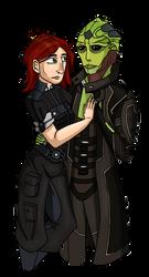 ME3: Vior and Thane