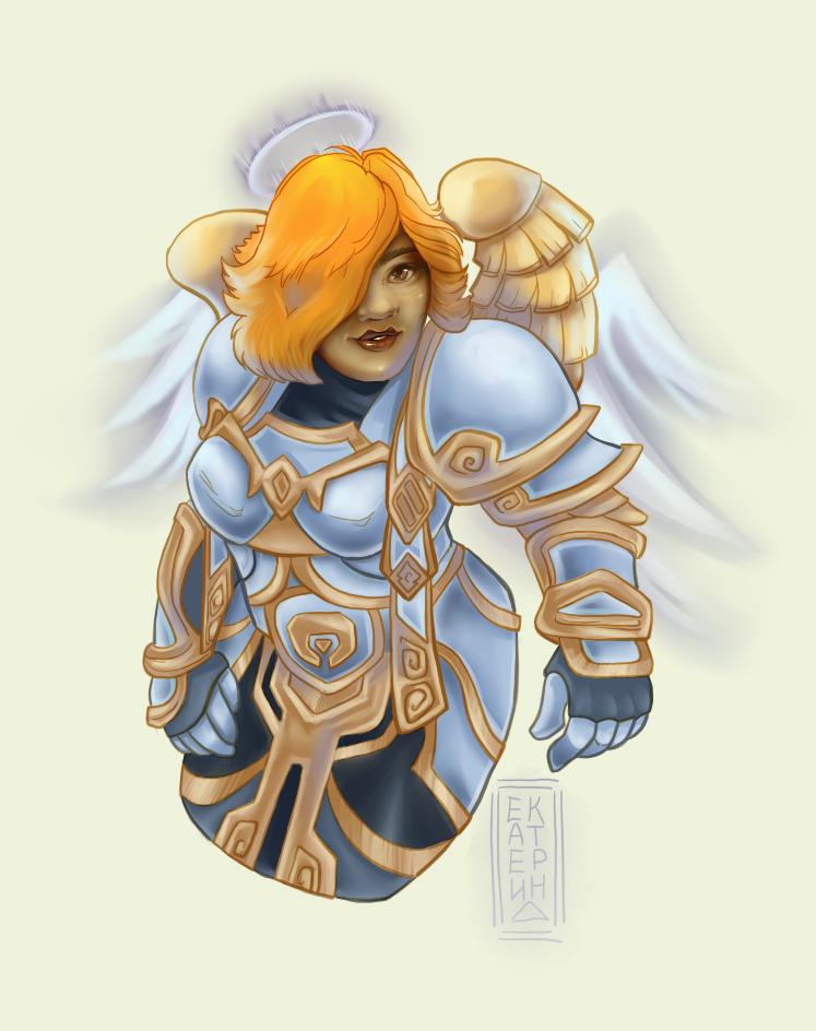 Angel Wings For Gravrok88 by missVarlou