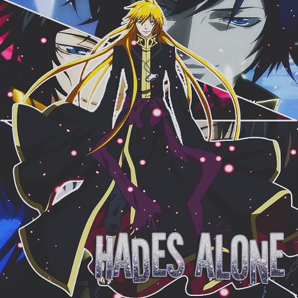 Hades Alone (saint Seiya Lost Canvas) By YamiSawada On