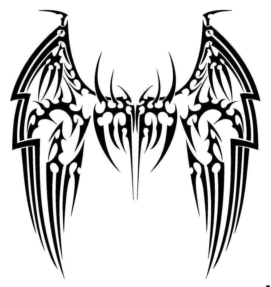 Demon Wing Tattoo Chest | www.imgkid.com - The Image Kid ...